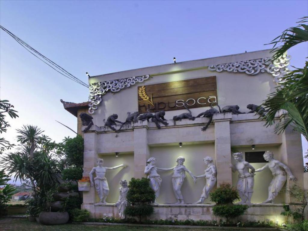 Kubu Soca Villas Ubud, Honeymoon di Villa Romantis Tengah Sawah