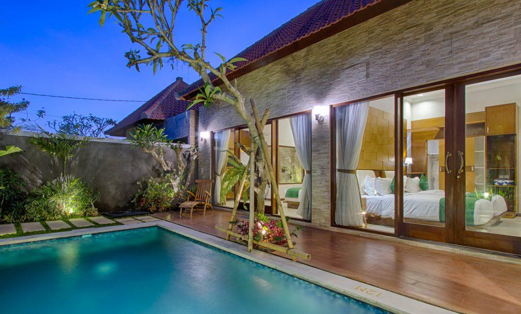 Rekomendasi villa untuk honeymoon di bali