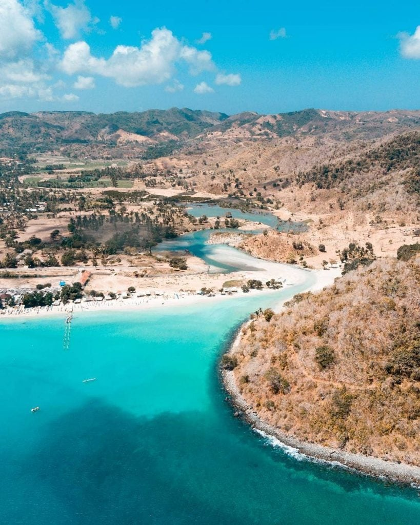 Pantai Selong Blanak, Pantai Eksotis ala Pedesaan Tradisional Lombok