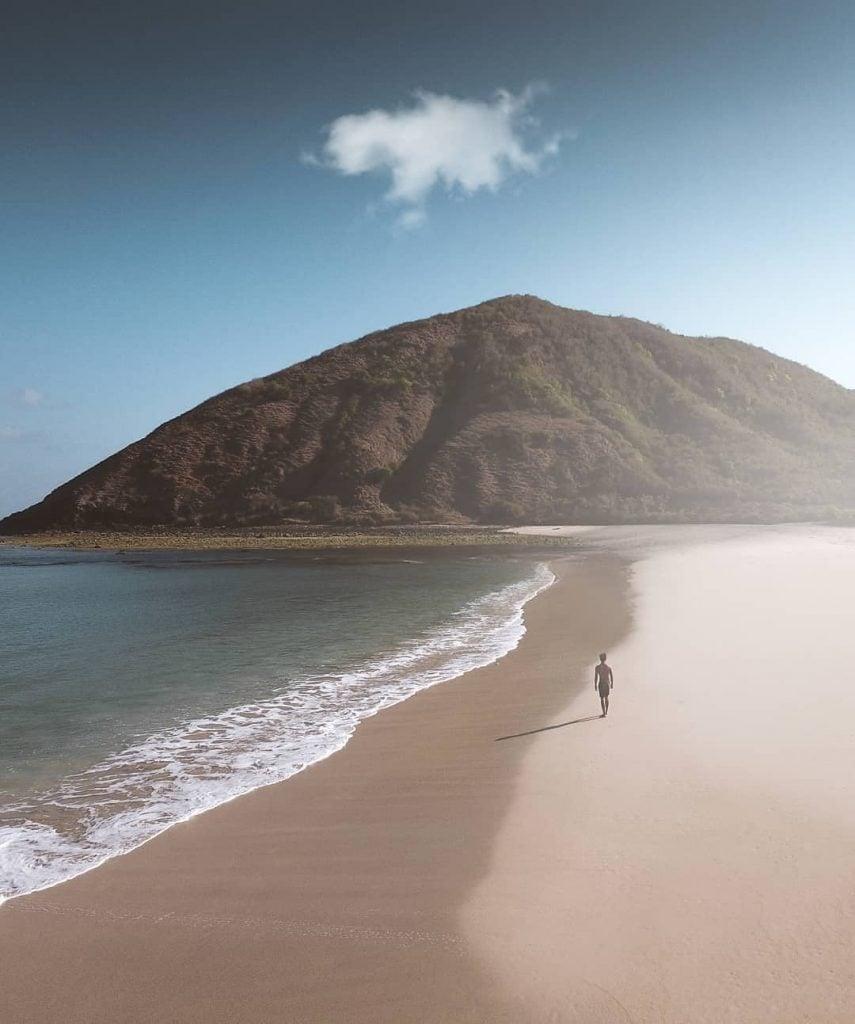 Pantai Mawun, Pantai Alami Hidden Paradise Lombok
