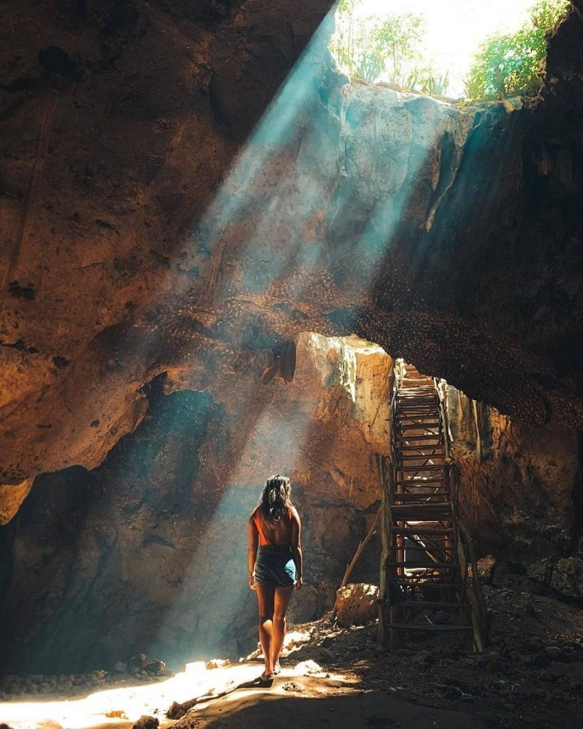 Goa Bangkang, Goa ala Indiana Jones di Lombok