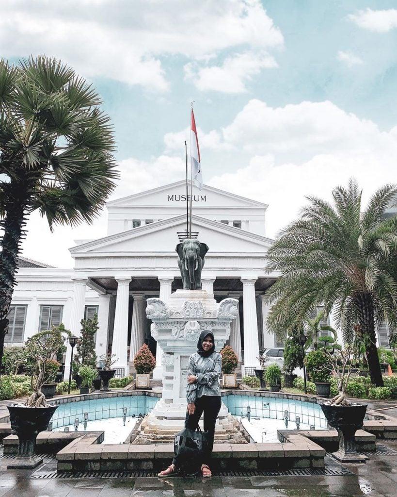 Museum Nasional Museum Pusat di Jakarta yang cocok untuk pacaran dan kencan yang lebih berfaedah