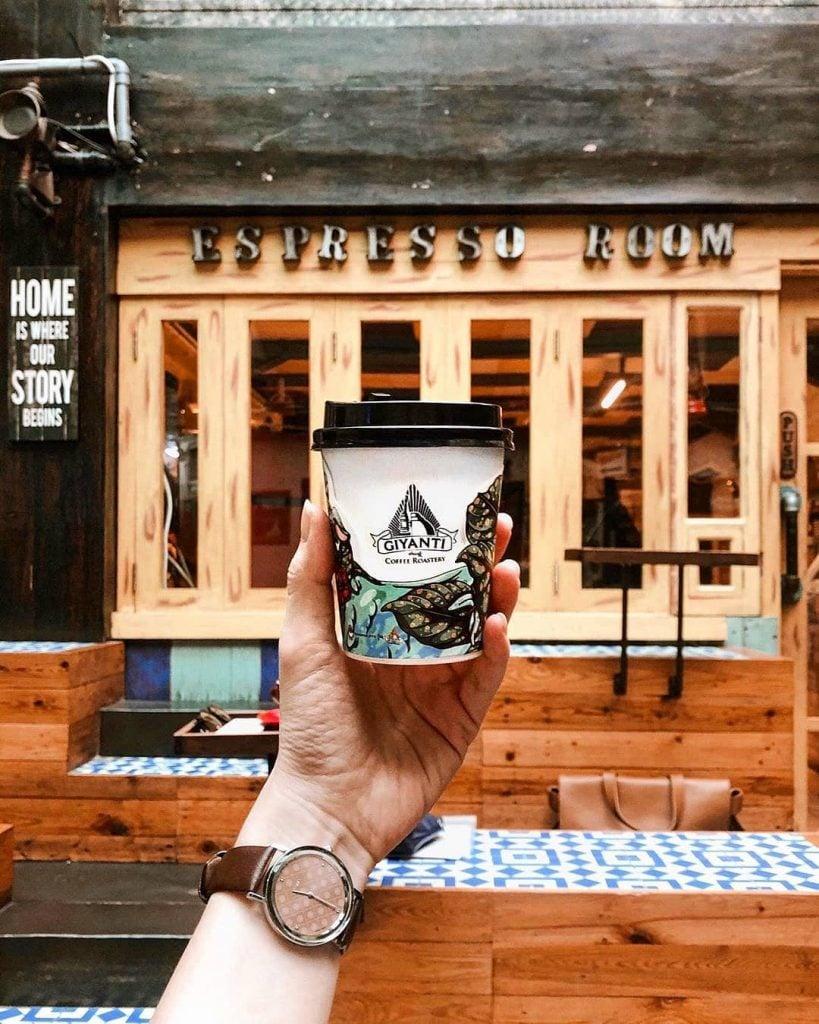 Giyanti Coffee Roastery Kafe Instagrammable untuk Ngopi dan Foto-foto di Jakarta