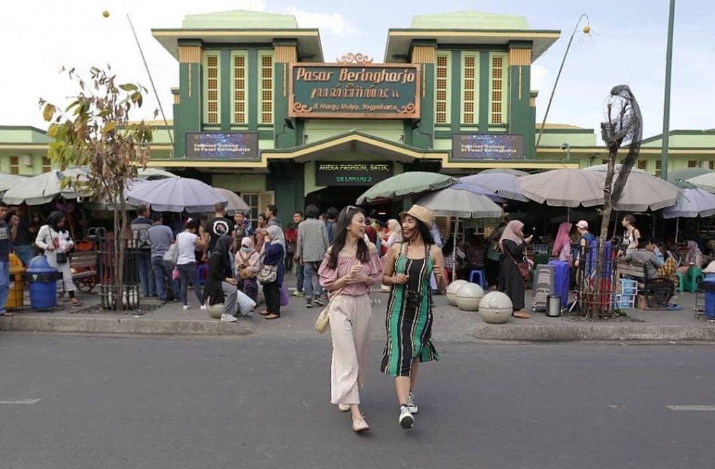 Pasar Beringharjo, Pasar Utama Pusat Wisata Belanja di Jogja