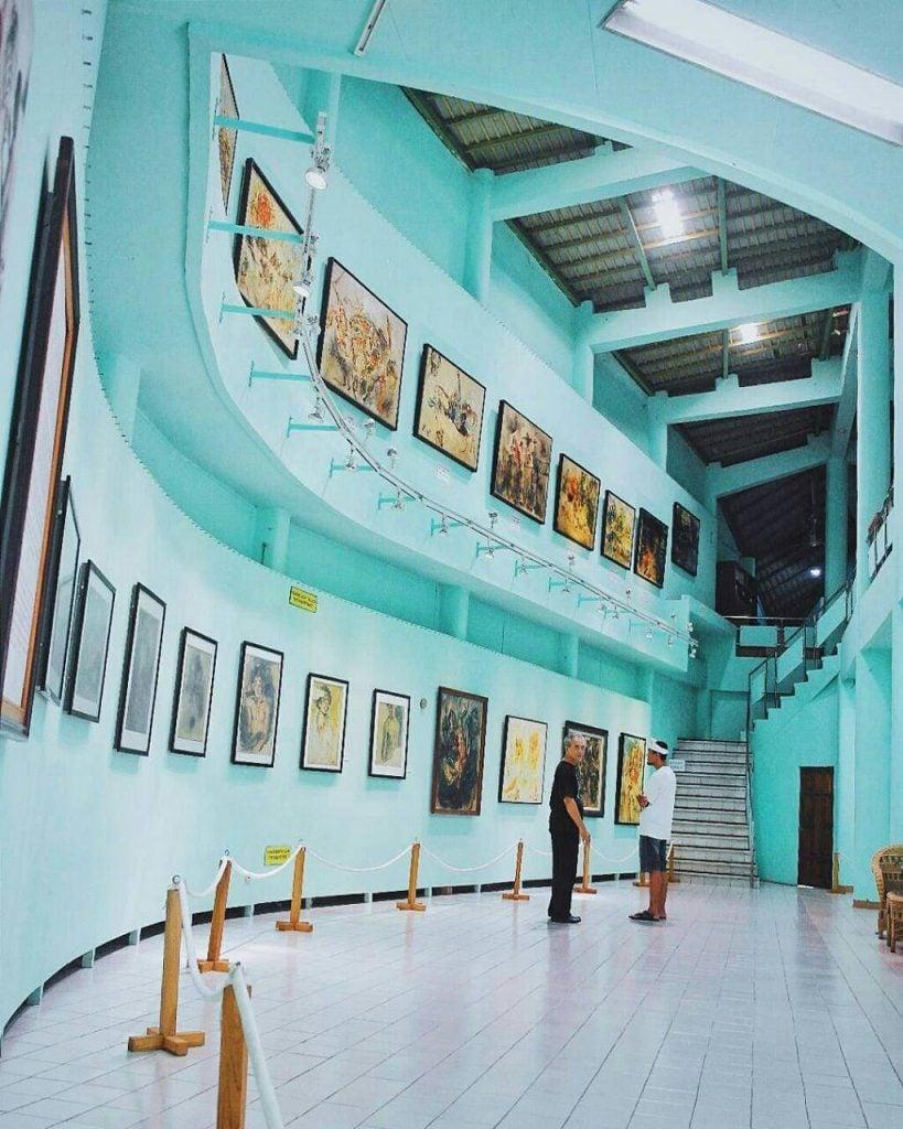 Museum Affandi, Museum sekaligus Galeri Seni Maestro Lukis Affandi