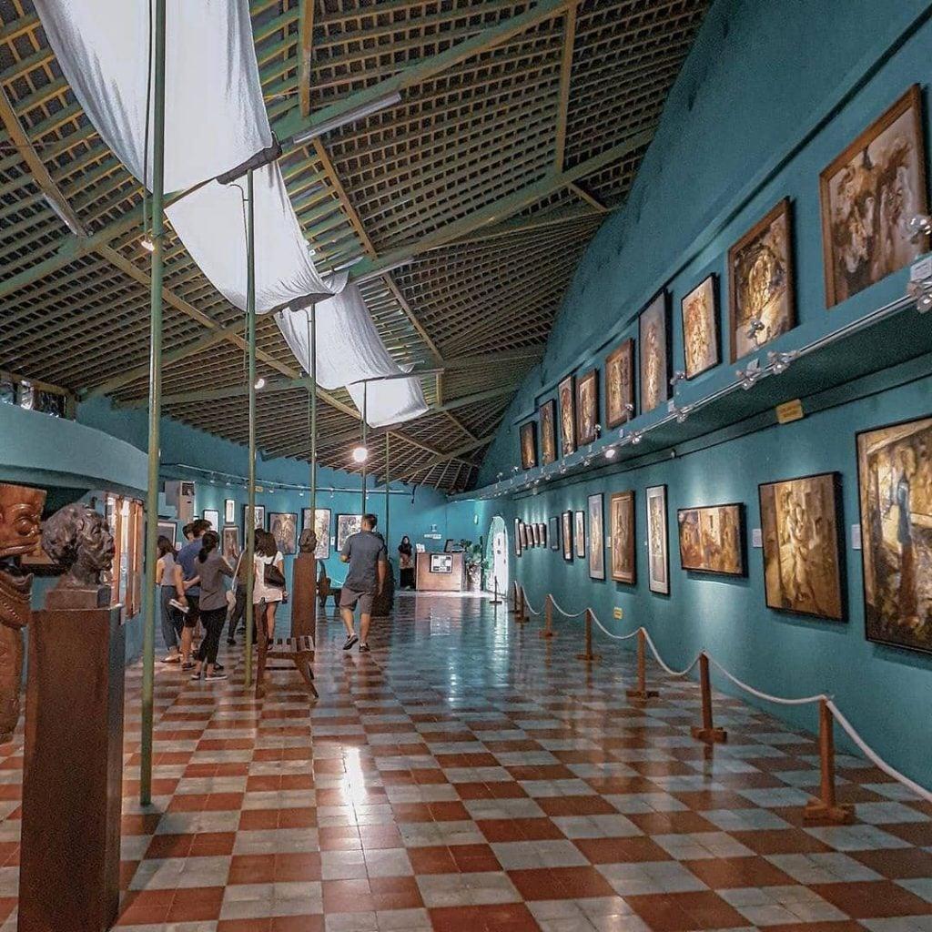 Menikmati karya seni lukisan maestro di Museum Affandi