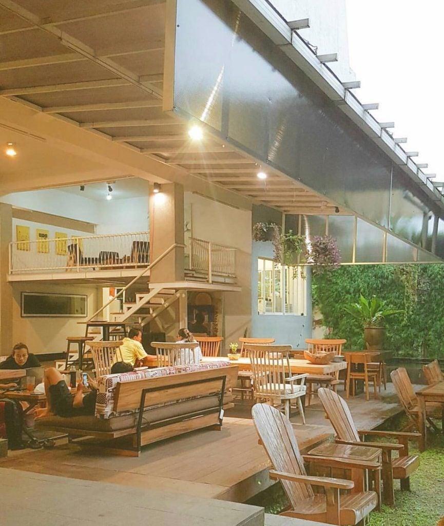Langgeng Art Space, Galeri Seni sekaligus Kafe dan Restoran Instagrammable di Jogja
