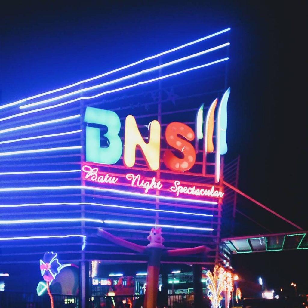 Batu Night Spectacular (BNS), Tempat Bermain Malam Hari Paling Seru di Batu Malang