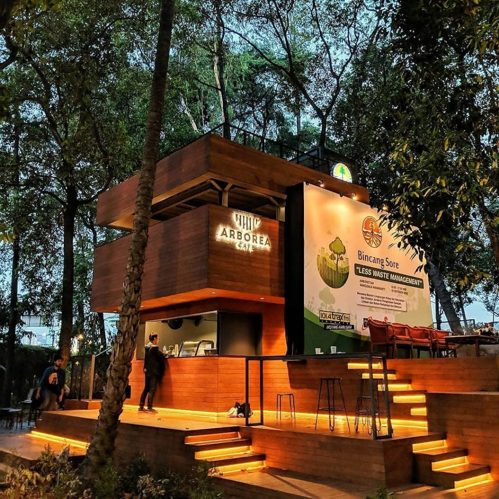 Arborea Cafe Kafe Mungil Nuansa Outdoor Hutan Kota yang cocok untuk kencan santai di Jakarta