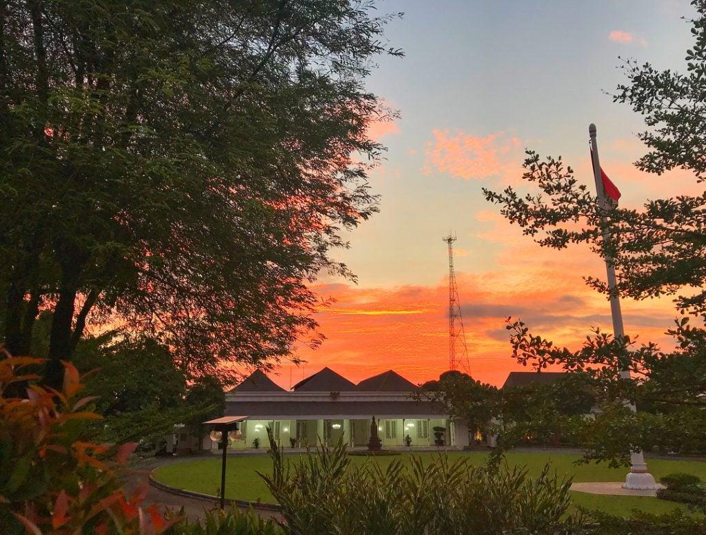 Istana Gedung Agung, Istana Kepresidenan yang Agung di Jogja