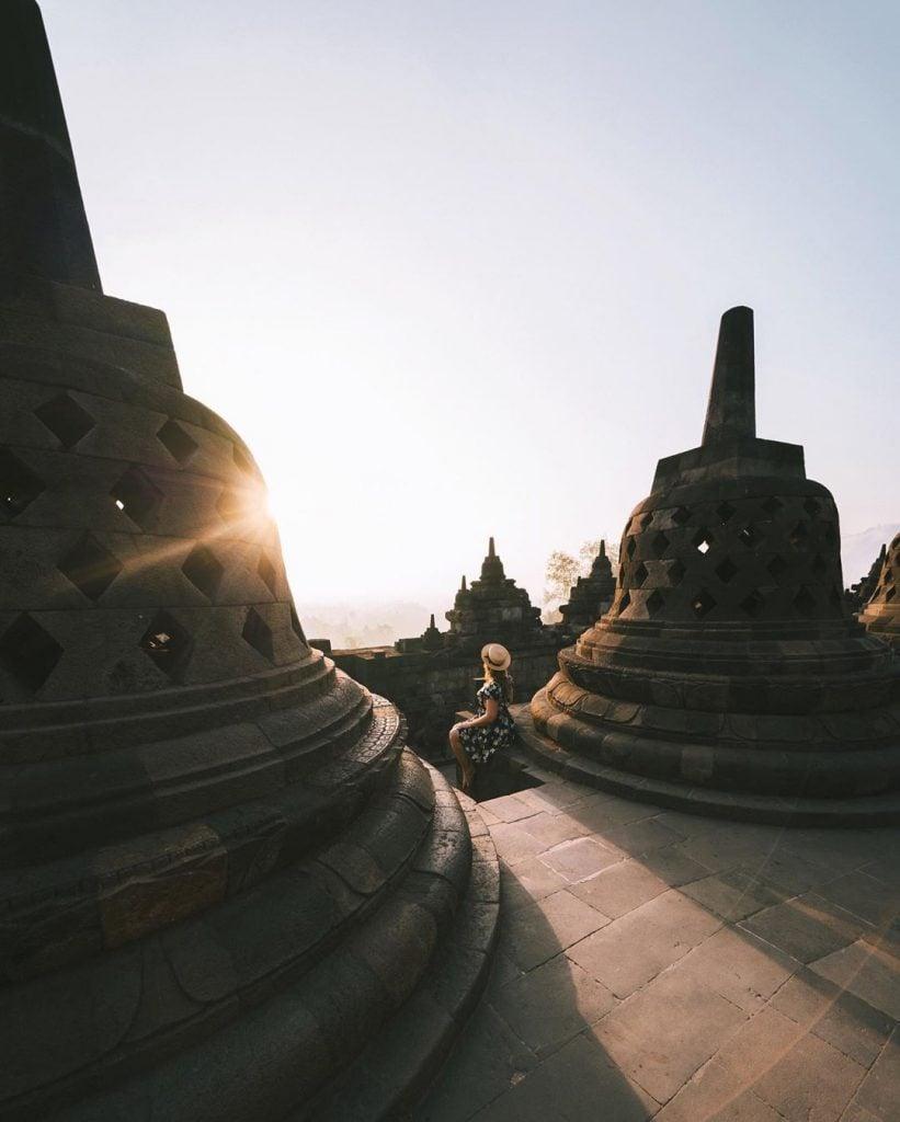 Menyaksikan Sunrise di Candi Borobudur