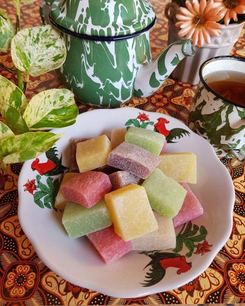 Yangko, Mochi Mini Colourful khas Jogja