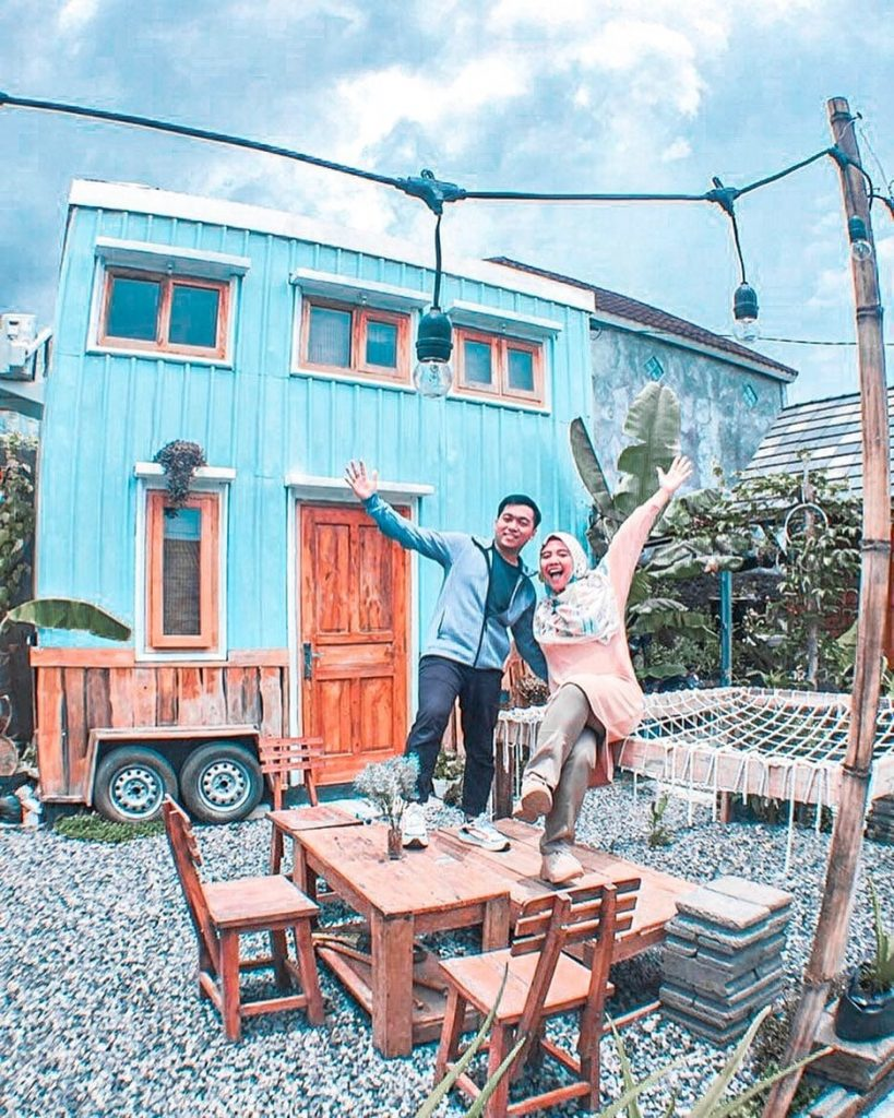 Dreamy Tiny House Jogja, Penginapan ala Kontainer Mini dan Karavan Instagrammable di Jogja