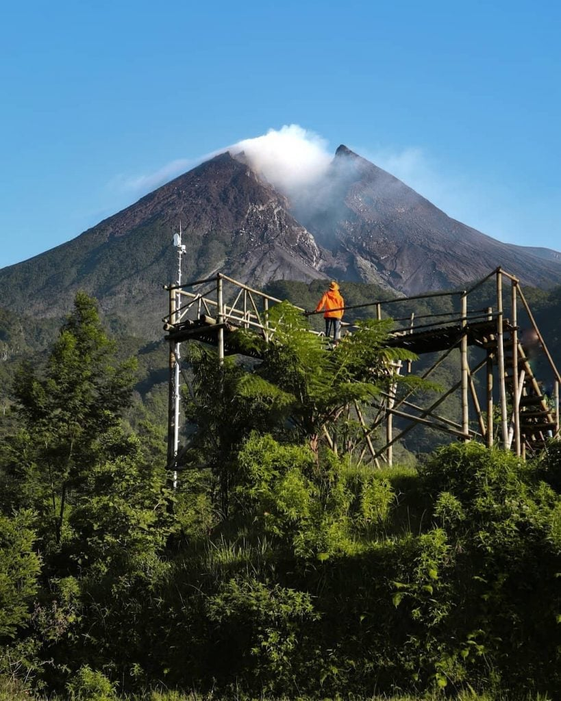 Bukit Klangon, Tempat Sempurna untuk Menyaksikan Kegagahan Gunung Merapi di Jogja