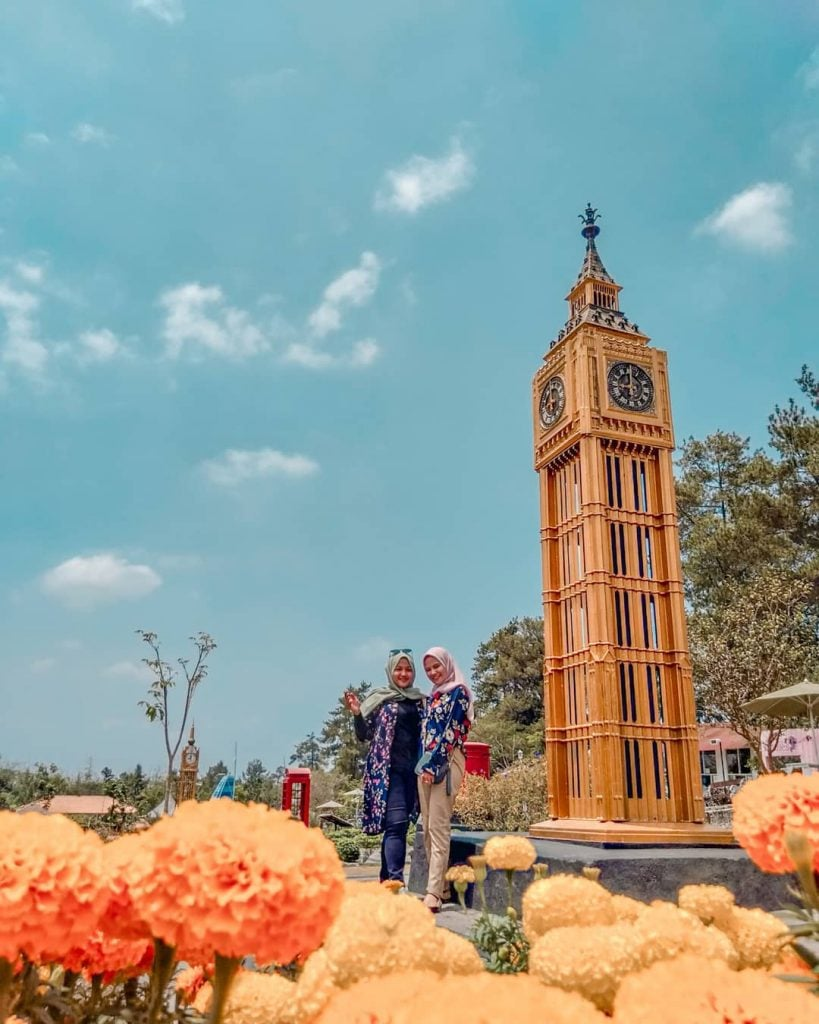 The World Landmarks-Merapi Park, Sensasi Keliling Dunia dalam Sehari di Jogja