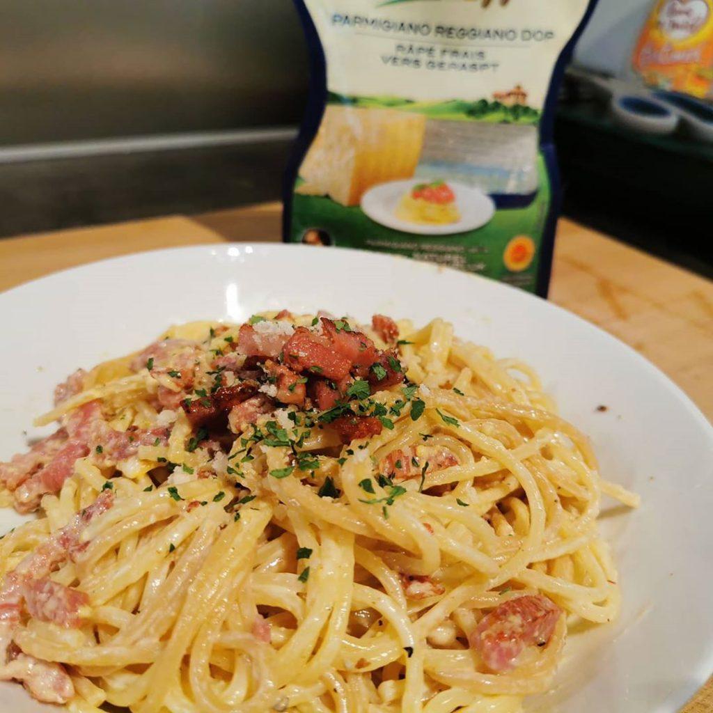 Resep Menu Buka Puasa Spaghetti Carbonara ala Restoran di Bulan Puasa