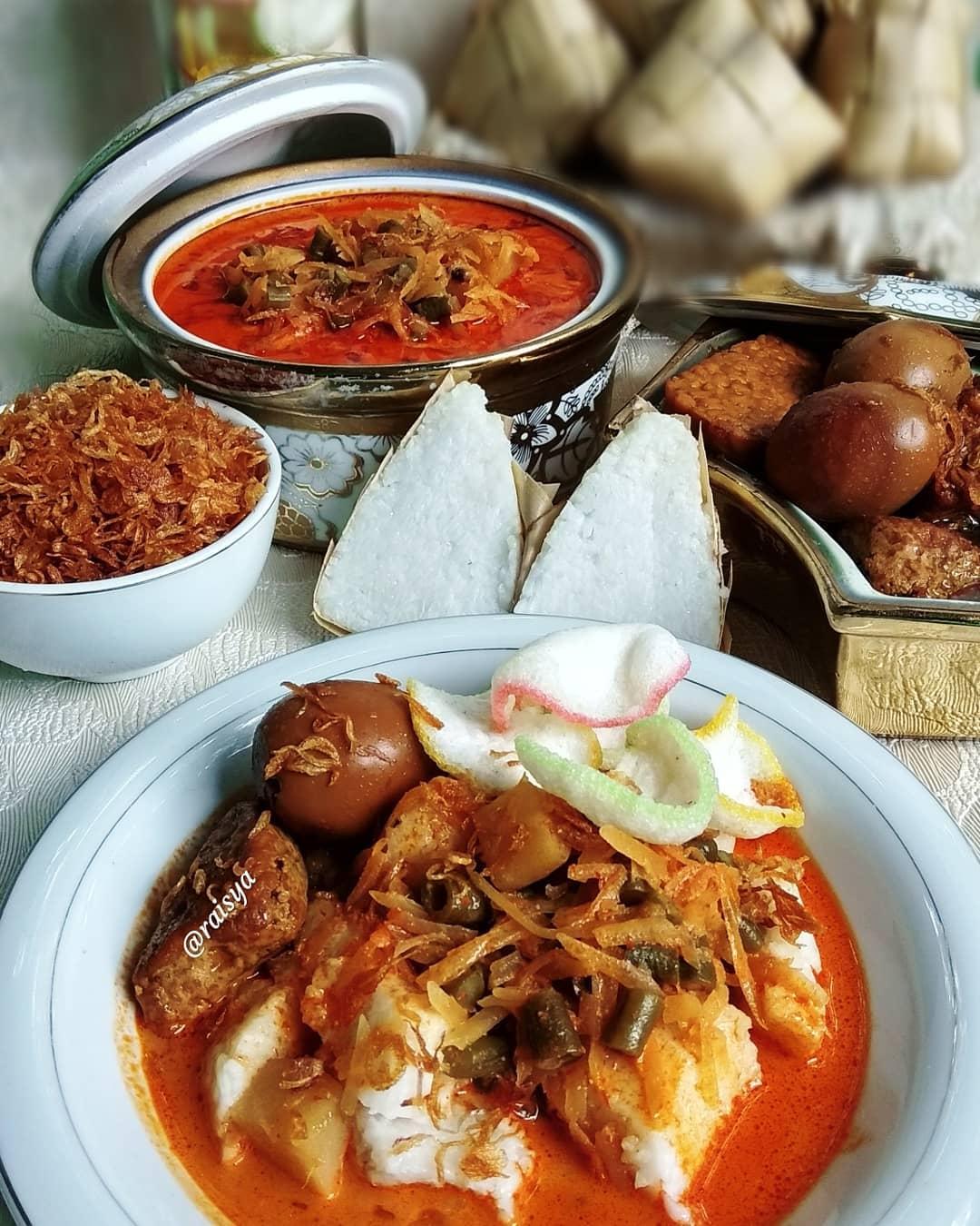 Resep Ketupat Sayur Betawi untuk Lebaran