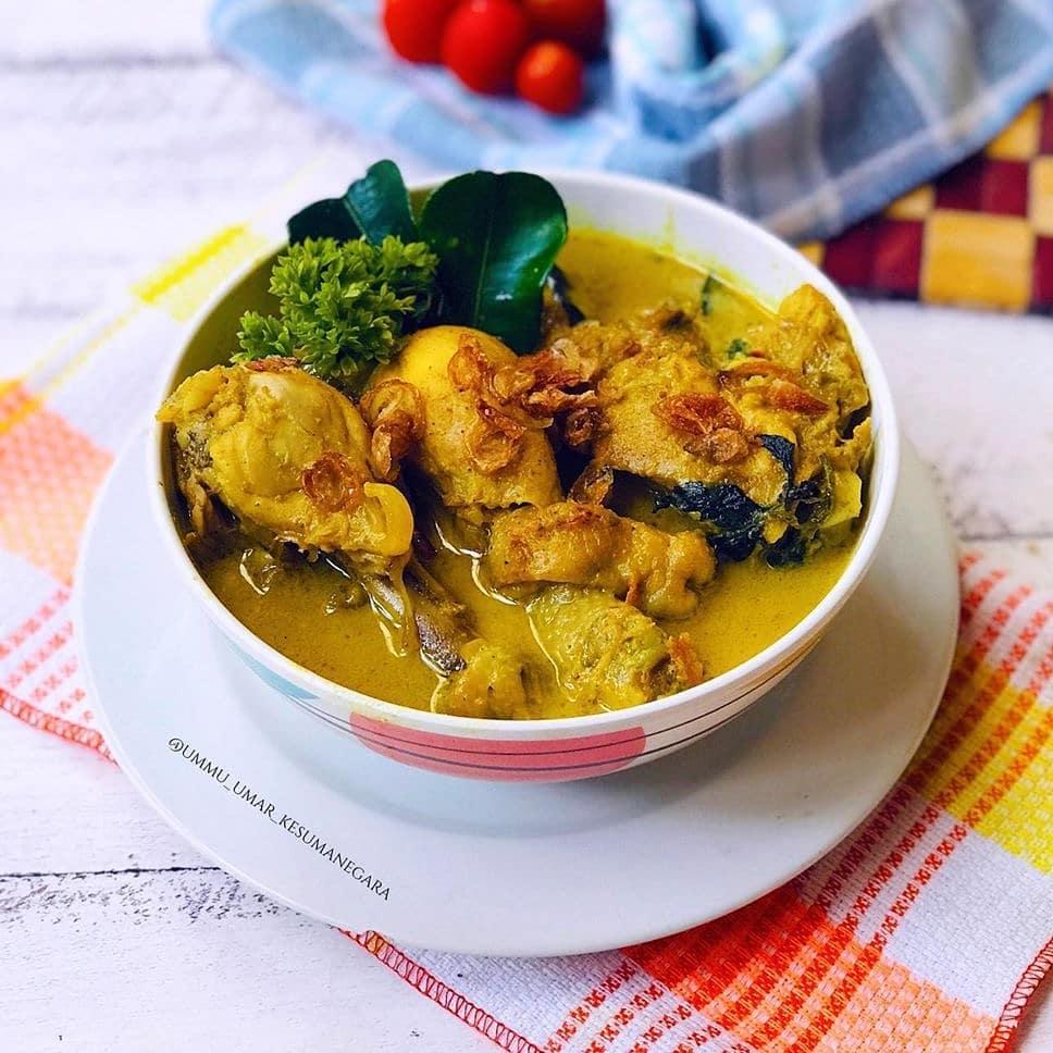 Resep Opor Ayam Kuning untuk Lebaran