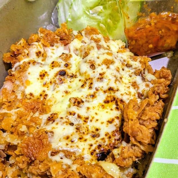 Resep Ayam Geprek Mozarella Jaman Now