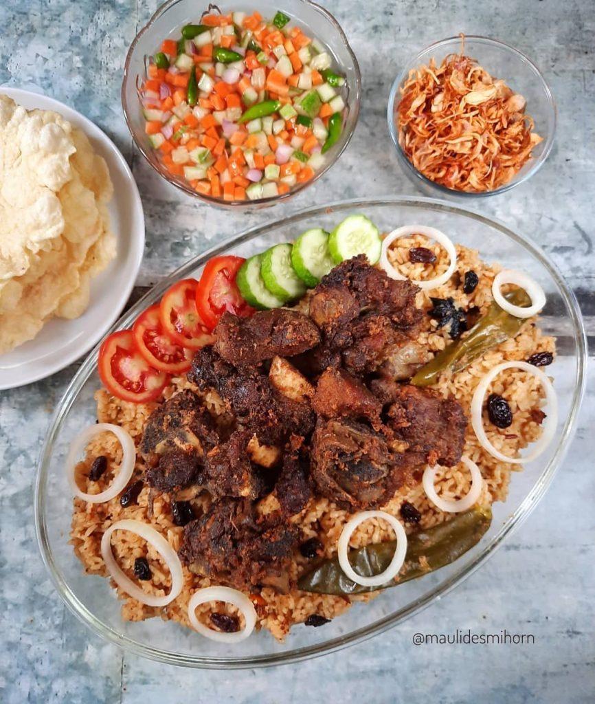 Resep Nasi Kebuli Kambing untuk Idul Adha