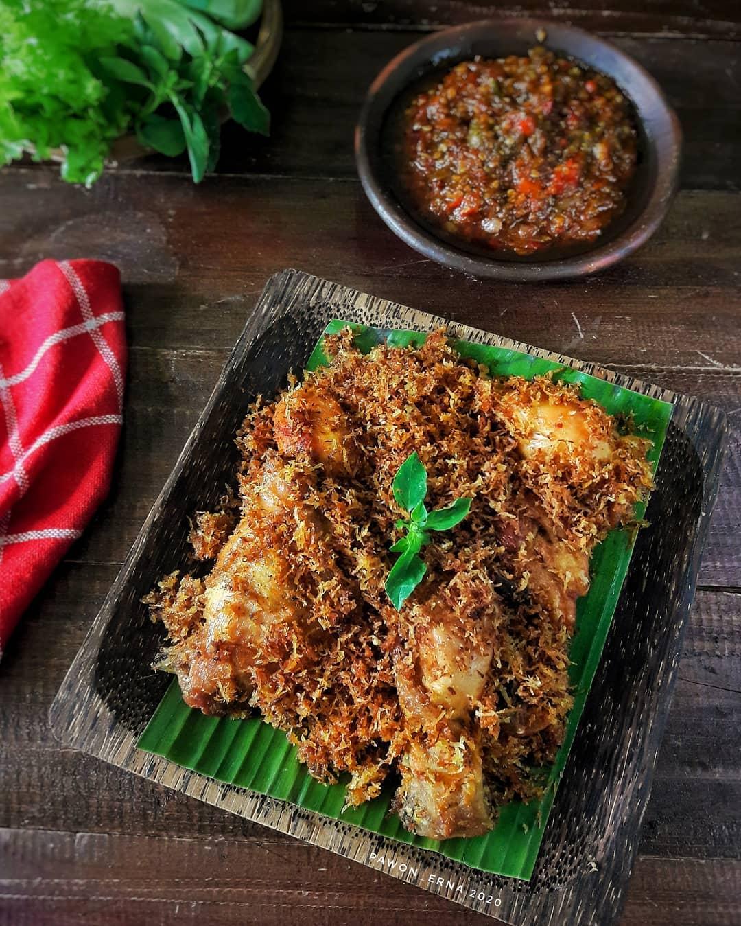 Resep Ayam Serundeng Kelapa Gurih Praktis Gak Pake Ribet
