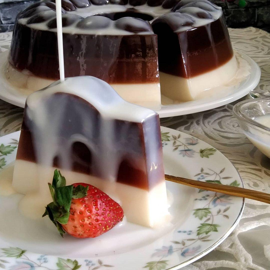 Resep Puding Coklat Vla Anti Ribet