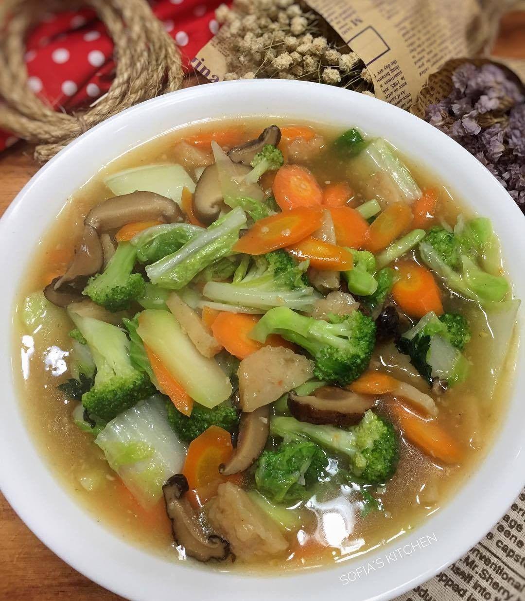Resep Capcay Kuah Kental Untuk Comfort Food Di Rumah